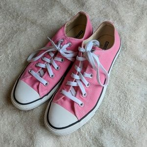 Converse All Star Pink Tennis Shoes